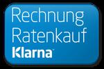 Klarna Rechnung und Ratenkauf Logo