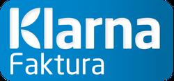 med KLARNA-faktura betalar du efter leverans